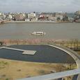 31 展望ラウンジから信濃川