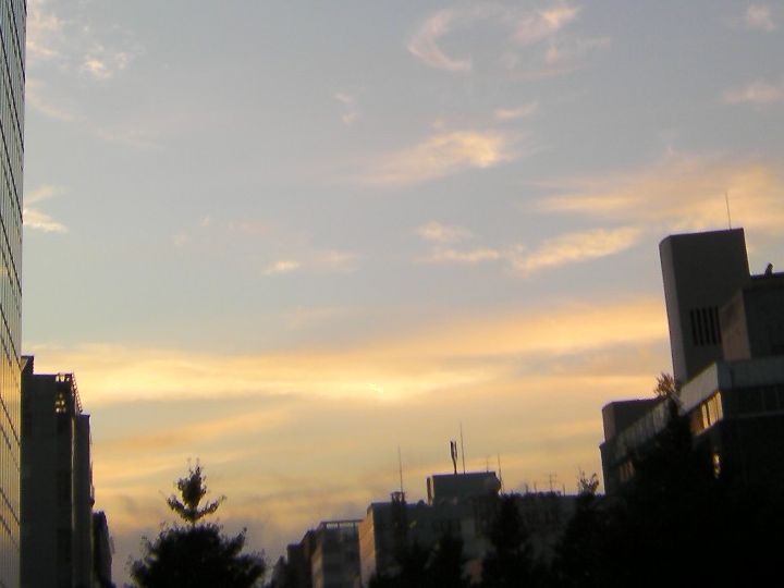 Sendai_sunset_20111028